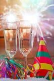 Nya år helgdagsafton Fotografering för Bildbyråer