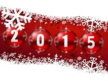 2015 nya år illustration Arkivfoto