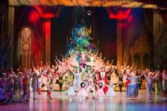 Nya år kapacitet på den kulturella mitten Royaltyfria Foton