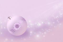 Nya år minimalism i pink Arkivbild
