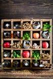 Nya ölingredienser Fotografering för Bildbyråer