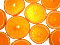nya apelsiner arkivbilder