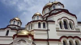 Nya Athos av St Simon den Canaanite kloster Abchazien Royaltyfri Bild