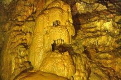 Nya Athos Cave - skelettet Arkivfoton