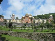 Nya Athos Monastery Royaltyfri Bild