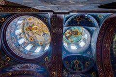 Nya Athos Monastery, Abchazien, inre Royaltyfri Fotografi