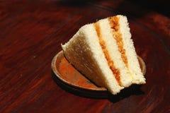 Nya bakelser eller smörgåsar Arkivfoto