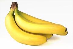 nya bananer Arkivfoton