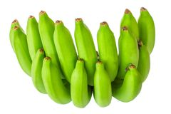 Nya bananer på träbakgrund i fruktmarknaden, den sunda maten, de knäpp richna i vitaminer, den sunda livsstilen och förhindrandet Royaltyfria Bilder
