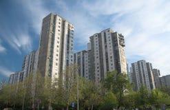 nya belgrade byggnader Arkivfoto