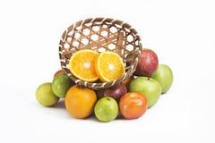 Nya blandningfrukter Fotografering för Bildbyråer