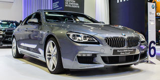 Nya BMW 6 serie Arkivbild