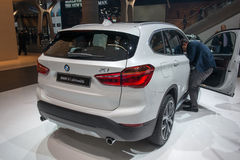 Nya BMW X1 - världspremiär Fotografering för Bildbyråer