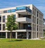 Nya bostads- byggnader i Bremgarten, Schweiz Royaltyfria Foton