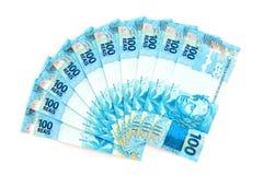 nya brasilianska pengar Fotografering för Bildbyråer