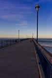 Nya Brighton Pier New Zealand Royaltyfria Foton