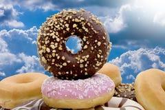 Nya buntar för Donuts Royaltyfri Foto