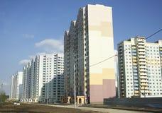 nya byggnader Arkivfoto