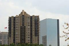 nya byggnader Fotografering för Bildbyråer