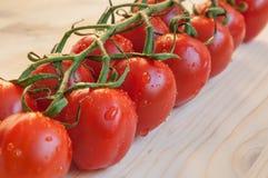 Nya Cherry Tomatoes Arkivbilder