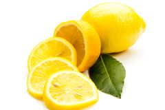 nya citroner royaltyfri bild
