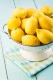 nya citroner Royaltyfria Bilder