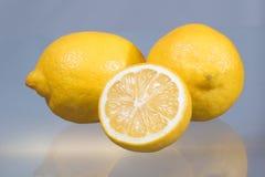 nya citroner tre Royaltyfri Bild