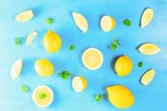 Nya citronfrukter arkivbilder