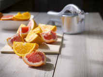 Citrusfrukter. Royaltyfri Bild