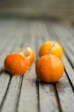 Nya clementines Royaltyfria Foton