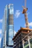 Nya construtionsbyggnader Royaltyfri Foto