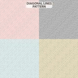 Nya diagonala linjer modell Röda svarta blåa gula färger för modern ny trend för bakgrunden Minsta geometrisk vektor royaltyfri illustrationer