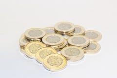 Nya ett pund mynt Royaltyfri Foto