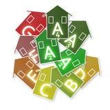 Nya europeiska lagar, i att angå energieffektivitet - begreppsimag arkivbild