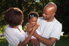 nya föräldrar Royaltyfria Bilder