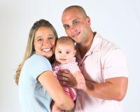 nya föräldrar Fotografering för Bildbyråer