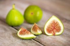 Nya fikonträdfrukter, sunt äta royaltyfria foton