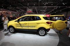 Nya Ford Ecosport på den auto mobila internationalen Royaltyfria Foton