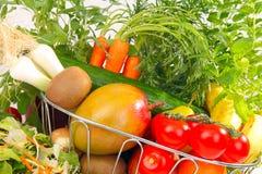 Nya frukt och grönsaker Arkivfoto