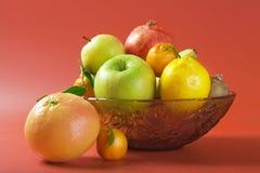 Nya frukter Royaltyfria Bilder
