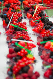 nya frukter för bär Fotografering för Bildbyråer
