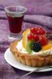 nya frukter för cake Arkivfoton