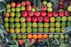 Nya frukter i marknaden Royaltyfri Bild