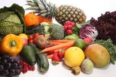Nya frukter och grönsaker för sunt royaltyfri foto