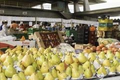 Nya frukter och nya grönsaker riktar från lantgårdarna Arkivfoto