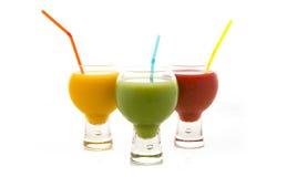 Nya fruktfruktsaftar Royaltyfri Foto