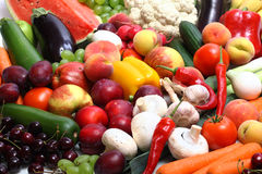 nya fruktgrönsaker Fotografering för Bildbyråer