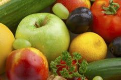 nya fruktgrönsaker Arkivfoto