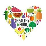 nya fruktgrönsaker vektor illustrationer