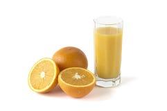 nya fruktsaftorangeapelsiner Arkivbild